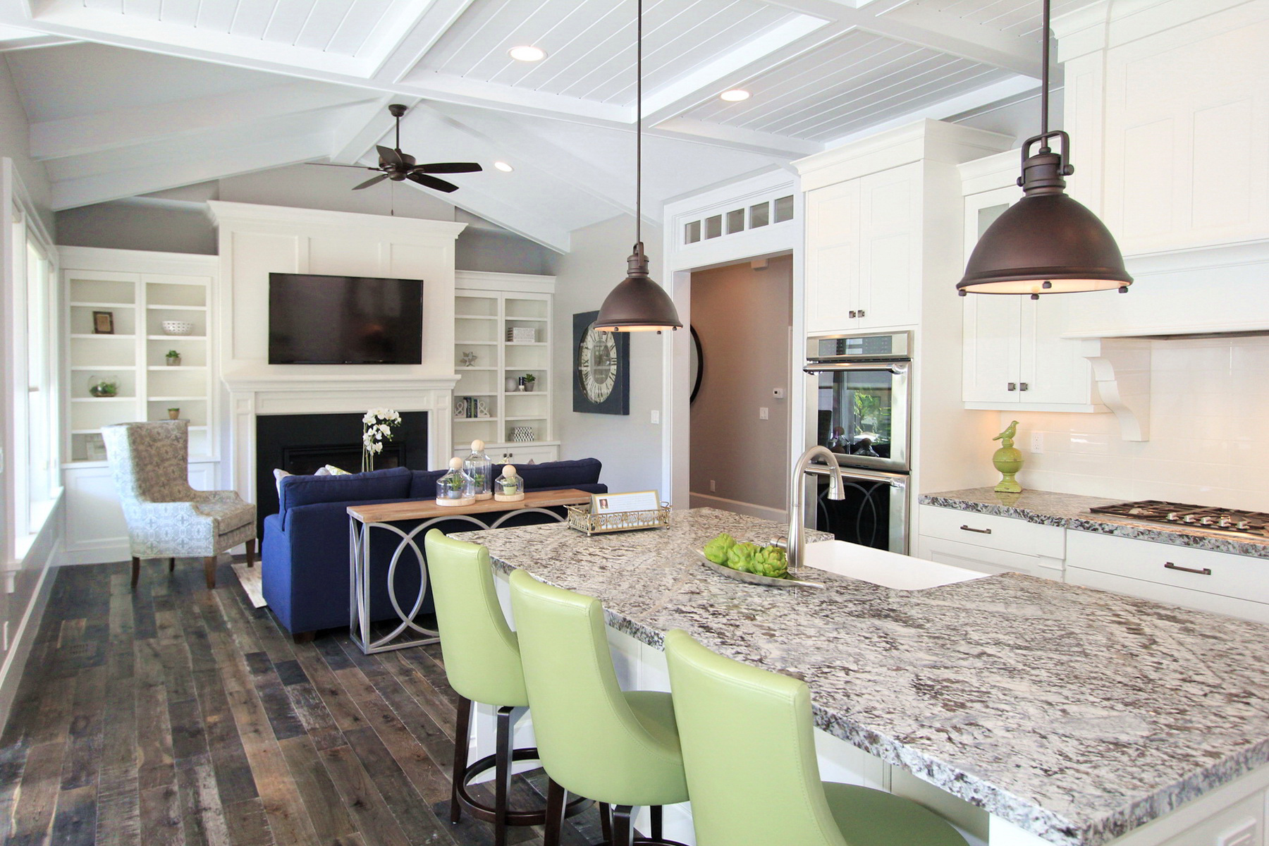 Lighting Options Over The Kitchen Island - Center island lighting