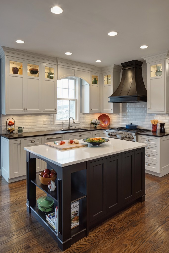 Lighting Options Over The Kitchen Island - Lighting above a kitchen island