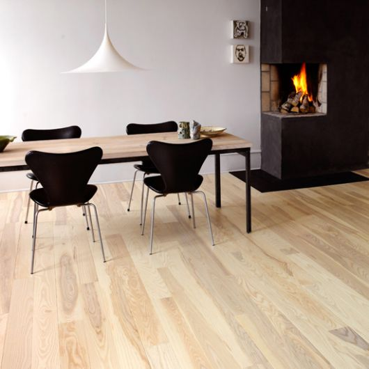 matte Light Wood Flooring Option