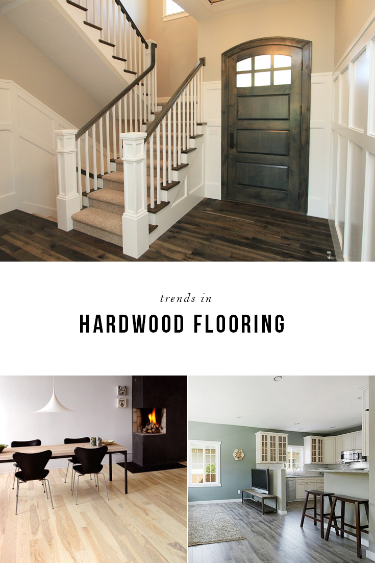 Hot new trends in hardwood flooring for Trends in wood flooring